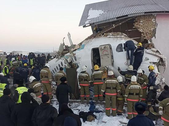 Эксперты назвали вероятную причину авиакатастрофы под Алма-Атой