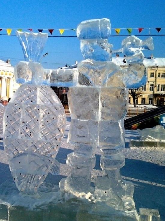 Ежегодный костромской фестиваль снежно-ледовых скульптур в этом году оказался под угрозой срыва