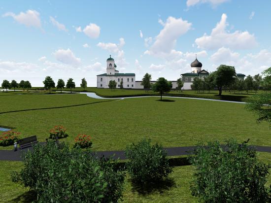 Что появится в парке у Мирожского монастыря в Пскове