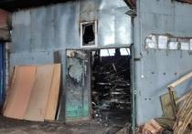 В Йошкар-Оле загорелся производственный цех
