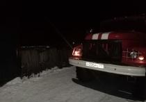 Человек пострадал на пожаре в Донском