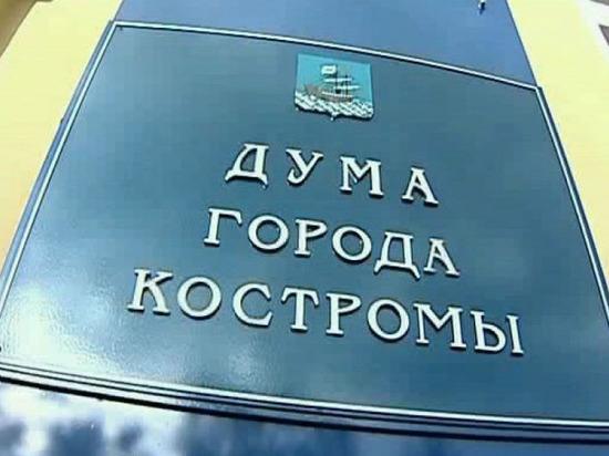 Костромичам предлагают сократить городскую Думу на 5 мест