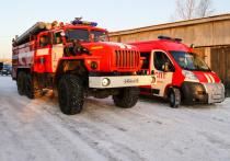 В Кургане пожарная машина столкнулась с Фольксваген Гольф