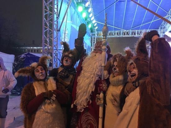 Проект «Рождественская сказка в Вологде» развернулся в областной столице
