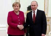 Путин рассказал об итогах встречи с Меркель