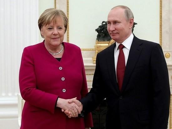 Меркель заявила о необходимости достроить «Северный поток-2»