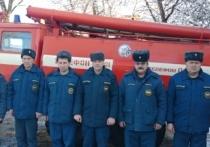 В Тверской области пожарные спасли женщину из огня