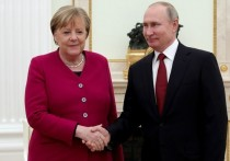 Меркель «наехала» на США, поговорив с Путиным о «Северном потоке-2»