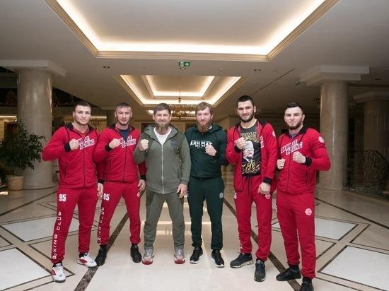 Кадыров отметил красивую победу «Грозы Кавказа» Давтаева в США