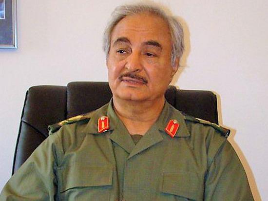 СМИ: Ливийский фельдмаршал Хафтар находится в Москве