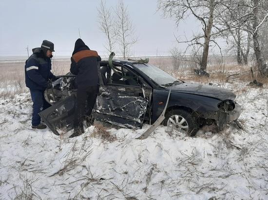 В Хакасии водитель попал в серьезное ДТП из-за радиоприемника