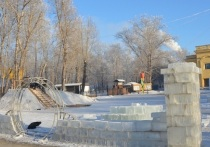 В Барнауле с каждым годом становится все меньше ледяных горок