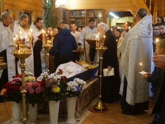 В Рязани простились со старейшим священником