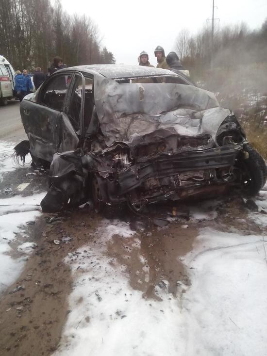 Стала известна причина ДТП в Тверской области, в котором сгорел водитель