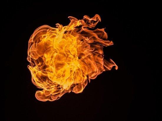 Под Саратовом мужчина спас из горящего дома жену и ребенка, а сам погиб