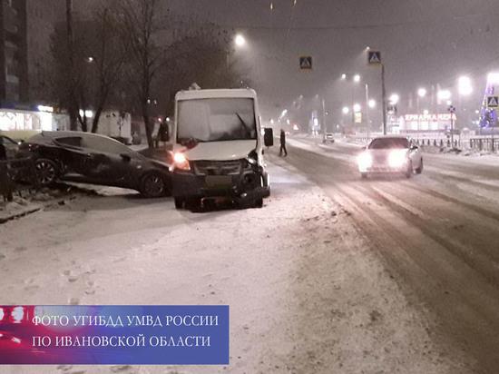 За сутки на дорогах Ивановской области произошло 4 ДТП