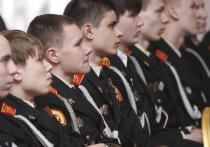 В России вдвое вырос набор в суворовские и кадетские училища
