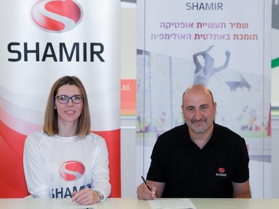 По пути на Олимпийские игры 2020 в Токио: легкоатлетка Хана Князева-Миненко подписала спонсорский контракт с компанией «Шамир таасийот оптика»