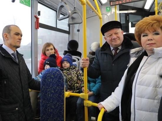 Новый троллейбусный маршрут открылся в Чувашии