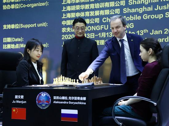 В Шанхае россиянка не проиграла, во Владивостоке попробует победить