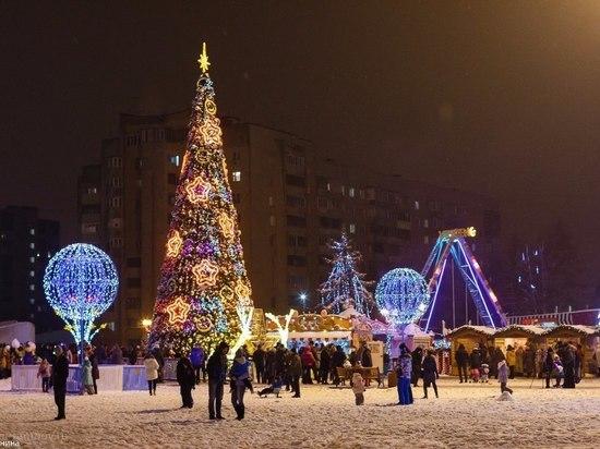 Тамбов побил рекорды по числу новогодних мероприятий