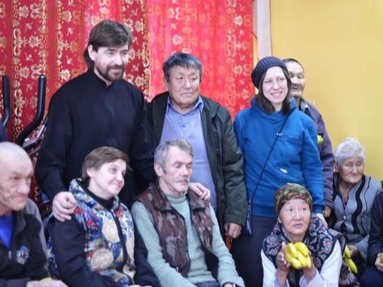 Просьба об открытии Молебной комнаты поступила от постояльцев дома-интерната для престарелых и инвалидов села Сукпак