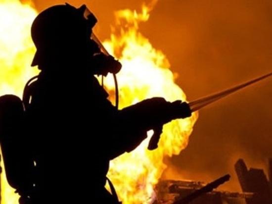 В пожаре в калмыцком селе погиб человек
