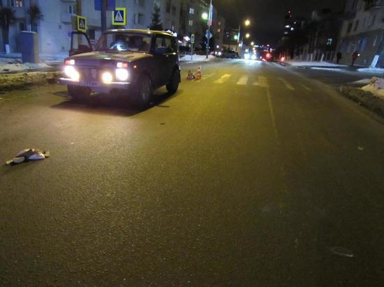 За вечер в Чебоксарах сбили двух пешеходов
