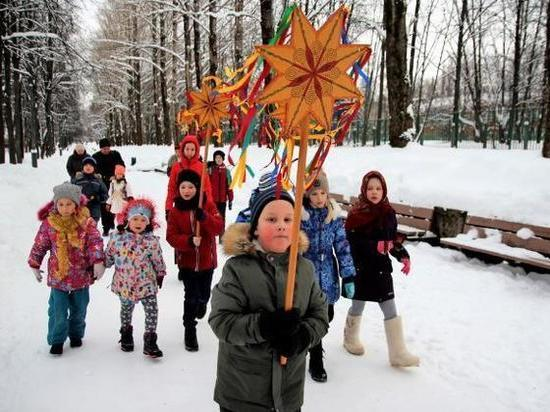 В разных уголках Серпухова отметили Рождество