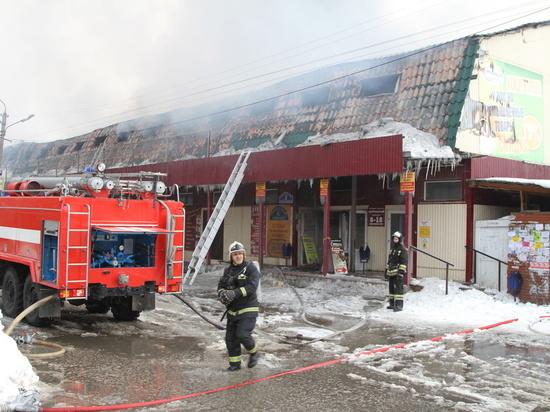 Коммерсантам из сгоревшего в ТЦ в НСО не будут компенсировать убытки