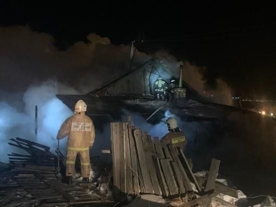 Труп обнаружили пожарные Магадана в сгоревшем доме
