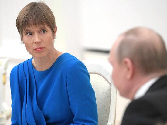 Президент Эстонии заявила, что надежды эстонцев на Россию не оправдались