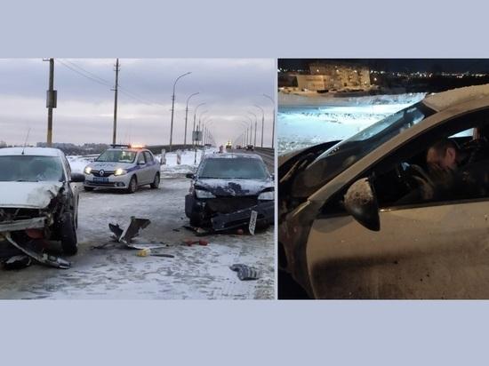 Пьяный водитель устроил гигантскую пробку на мосту в Архангельске