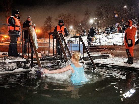Перед Крещением Новосибирские спасатели замерили толщину льда