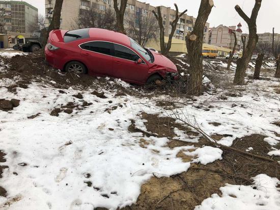 В Калмыкии водитель скрылся с места ДТП