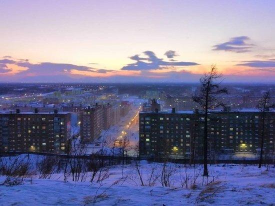 После месяца полярной ночи в Норильске взошло солнце