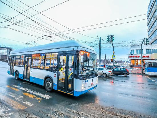Троллейбусный маршрут №100 «Чебоксары-Новочебоксарск» заработал официально