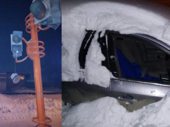 Юноша из Кемерова разнёс топором стекло по его мнению неправильно припаркованного автомобиля