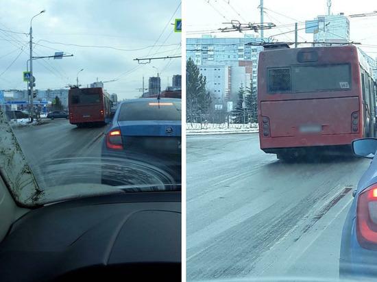 В Казани водителя автобуса за «встречку» привлекли к ответственности