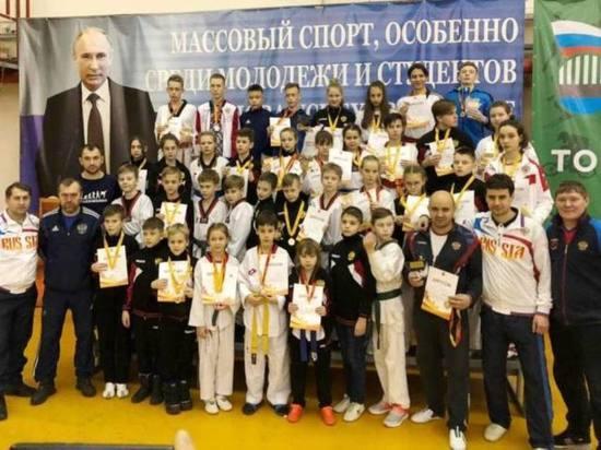 Почти тридцать медалей завоевали в Твери мастера тхэквондо из Иваново