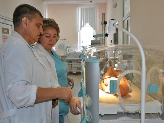 В перинатальный центр поступили инкубаторы для новорожденных