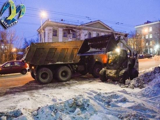 В Мурманске ограничат парковку в связи с уборкой снега