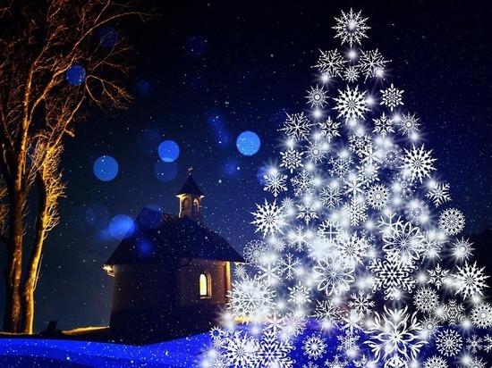 На центральной елке возле Чаши отметят старый Новый год