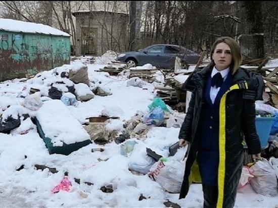 Прокуратура взялась за стихийную свалку в центре Калуги