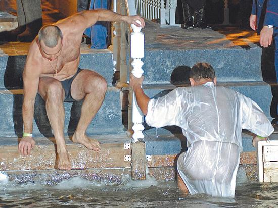 Список мест для крещенских купаний в Москве сократили из-за погоды