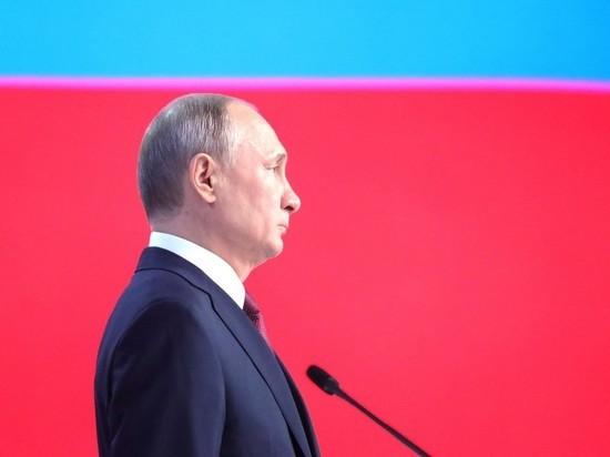 Послание Путина покажут на фасадах домов в Москве