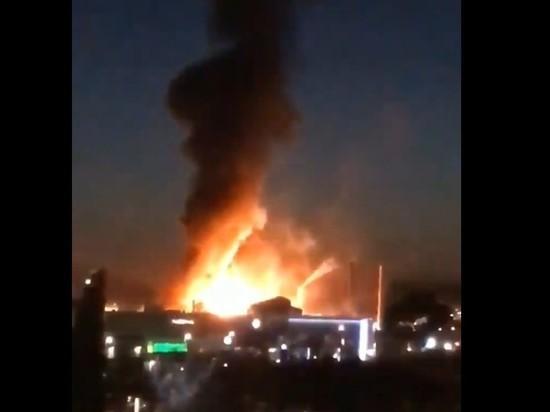 На нефтяном заводе в Испании произошел взрыв