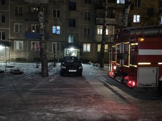 В Ивановской области сгорела квартира, есть пострадавший