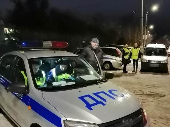 Ивановские автоинспекторы совместно с родителями провели профилактический рейд