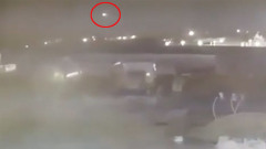 В Сети появилось новое видео ракетного обстрела украинского